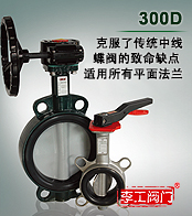 300D系列中线蝶阀