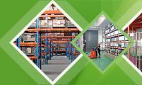 干净整洁的库房环境确保货品洁净安全